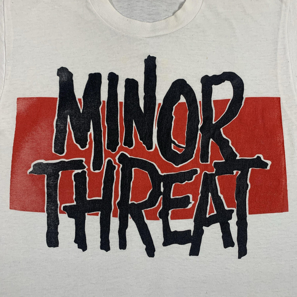 "Vintage Minor Threat ""Red Bar"" T-Shirt"
