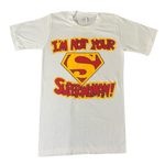 "Vintage Superwoman ""Puffy Ink"" T-Shirt"