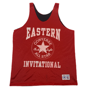 "Vintage Converse ""Eastern Invitational"" Reversible Basketball Jersey"