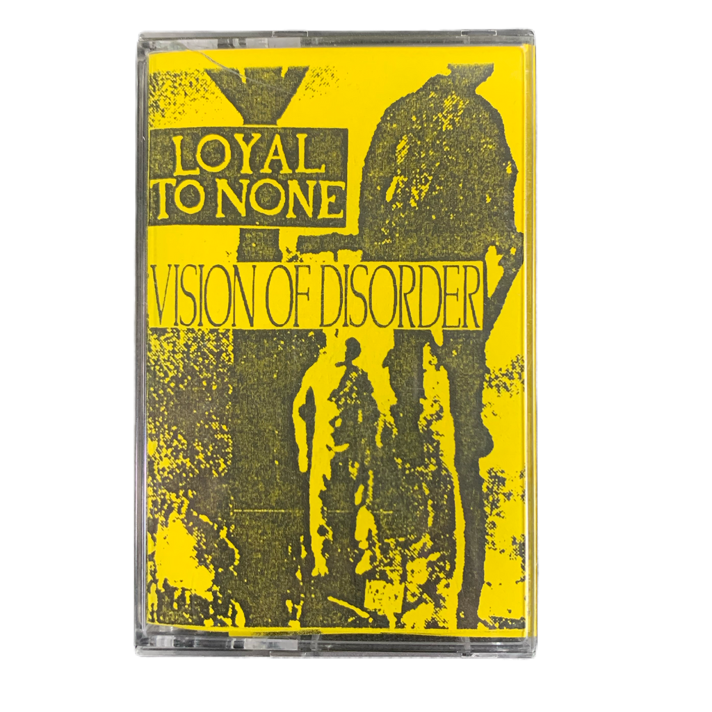 "Vintage Loyal To None / Vision Of Disorder ""Riptide Recordings"" 1994 #2 Split Tape"