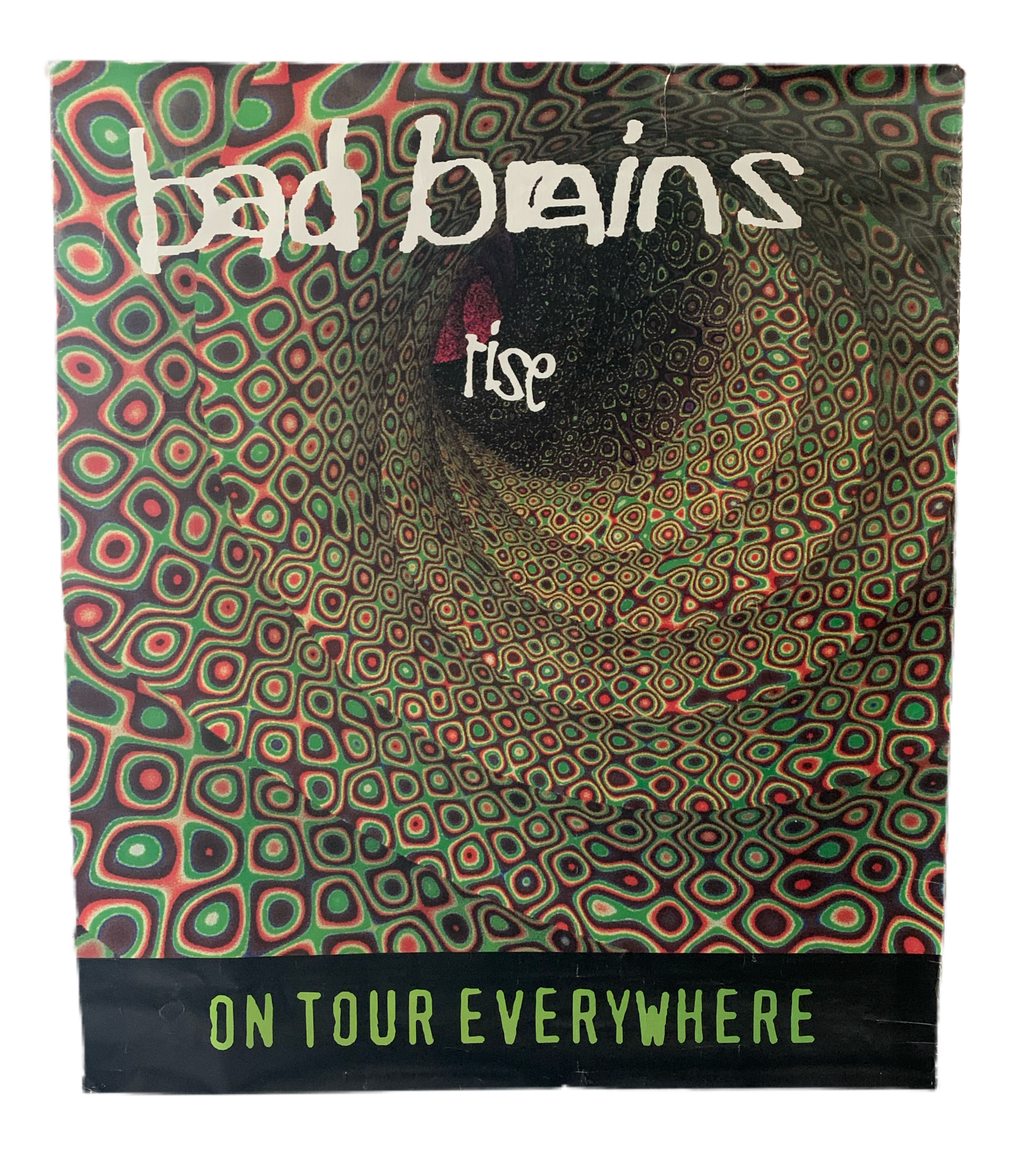 Bad Brains Rise original vintage tour poster