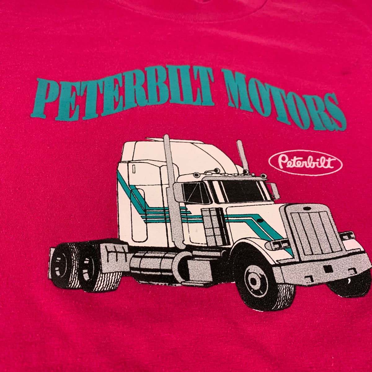 "Vintage Peterbilt ""Motors"" T-Shirt"