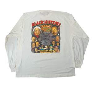 Vintage Original Black History Great Heritage Long Sleeve Shirt