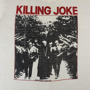 "Vintage Killing Joke ""Malicious Damage"" T-Shirt"