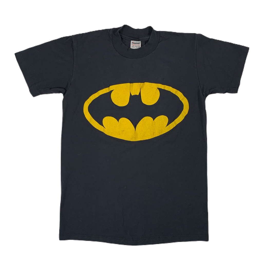 "Vintage Batman ""Puffy Ink Logo"" T-Shirt"