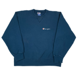"Vintage Champion ""Embroidered"" Crewneck Sweatshirt"