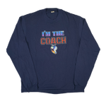 "Vintage I am The Coach ""Iron on"" Long Sleeve Shirt"