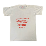 "Vintage Sammich Records ""Line-Up"" T-Shirt"