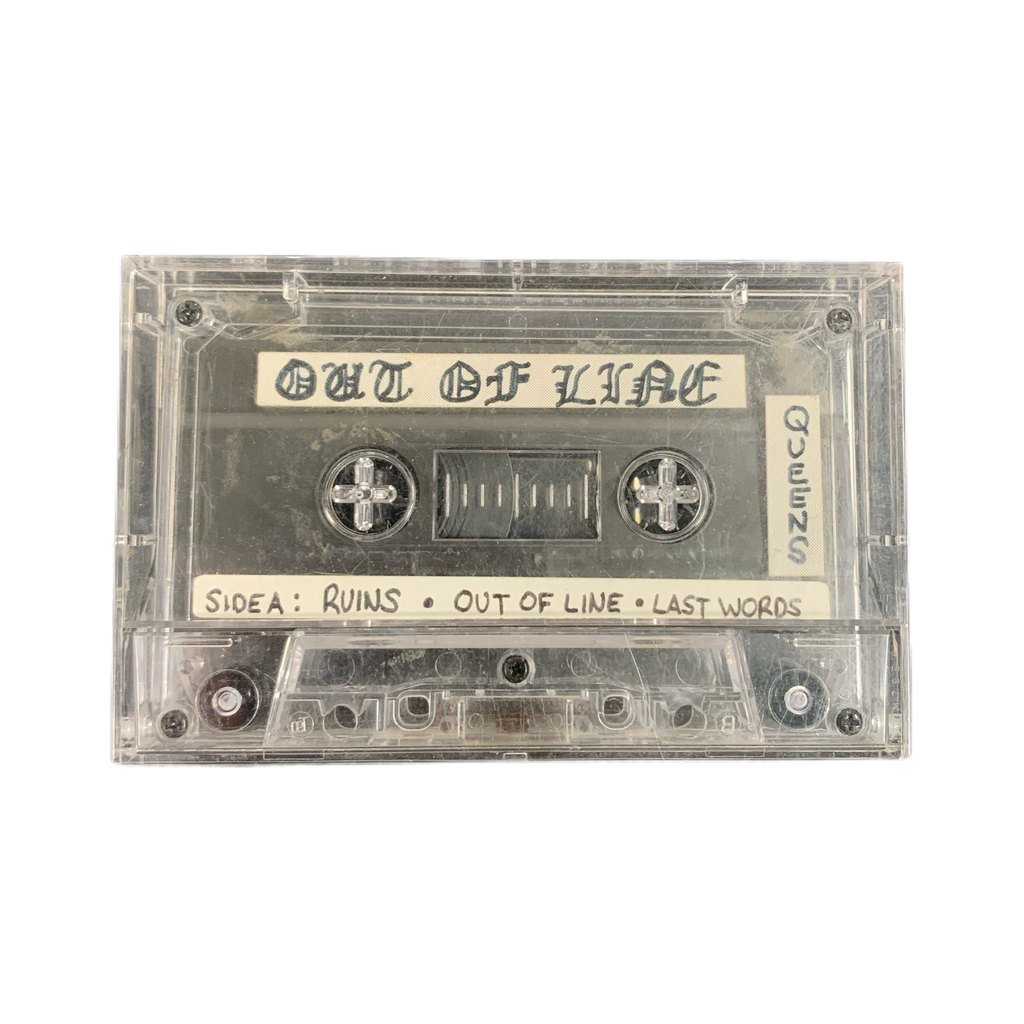 "Vintage Out Of Line Queens ""NYHC"" Demo Tape"