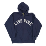 Vintage Livewire Board Zip-Up Sweatshirt