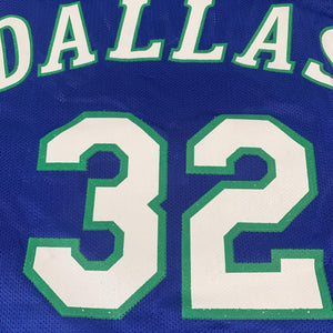 "Vintage Champion Dallas Mavericks ""Jamal Mashburn"" Basketball Jersey"