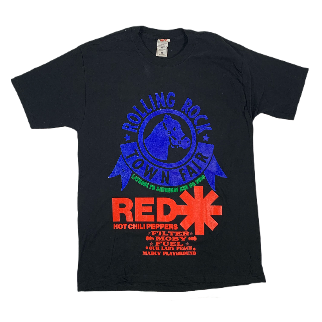"Vintage Rolling Rock ""Red Hot Chili Peppers"" T-Shirt"