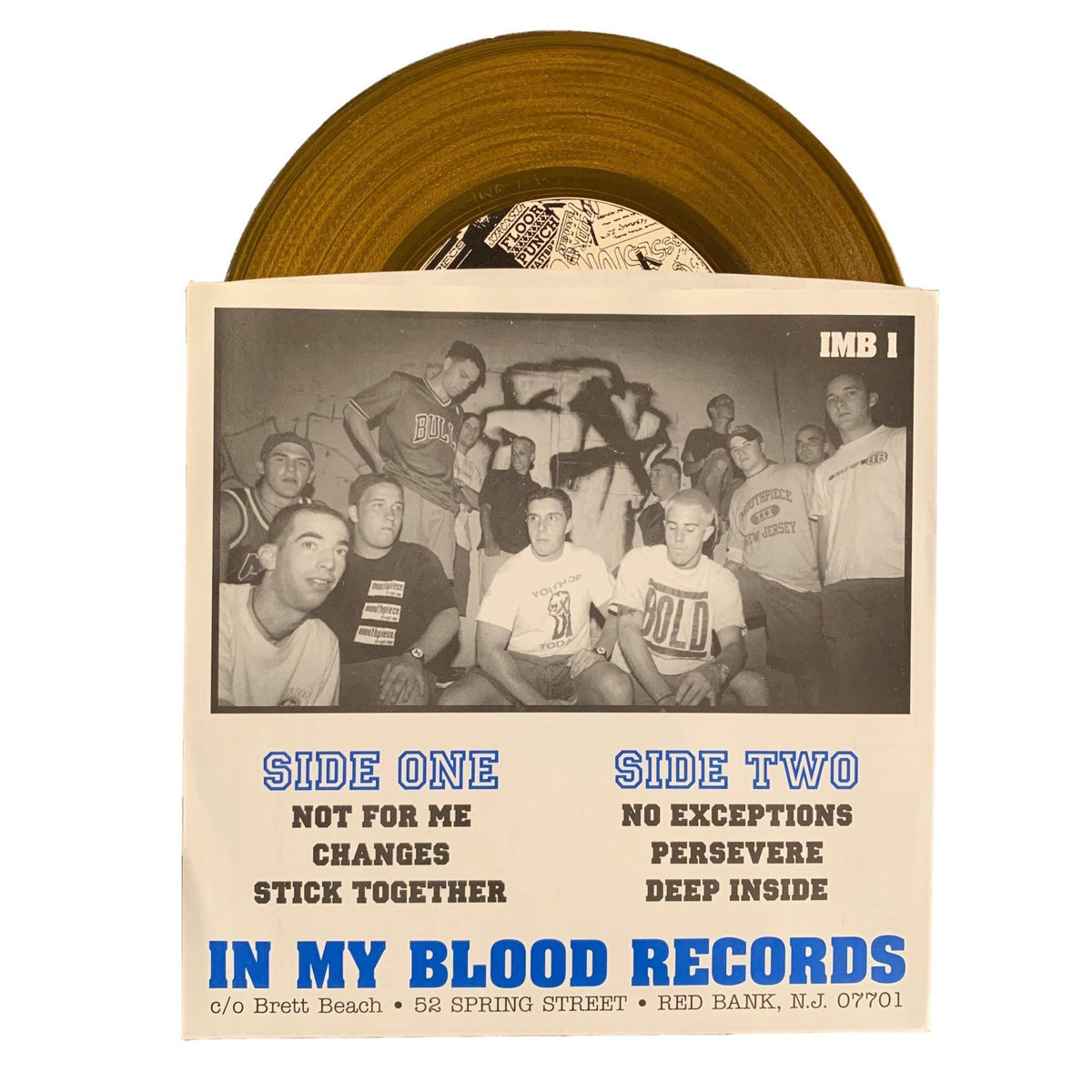 "Floorpunch ""Division One Champs"" Gold Vinyl"