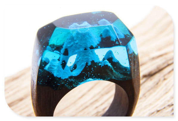 Blue Ocean Peak, Resin Ring