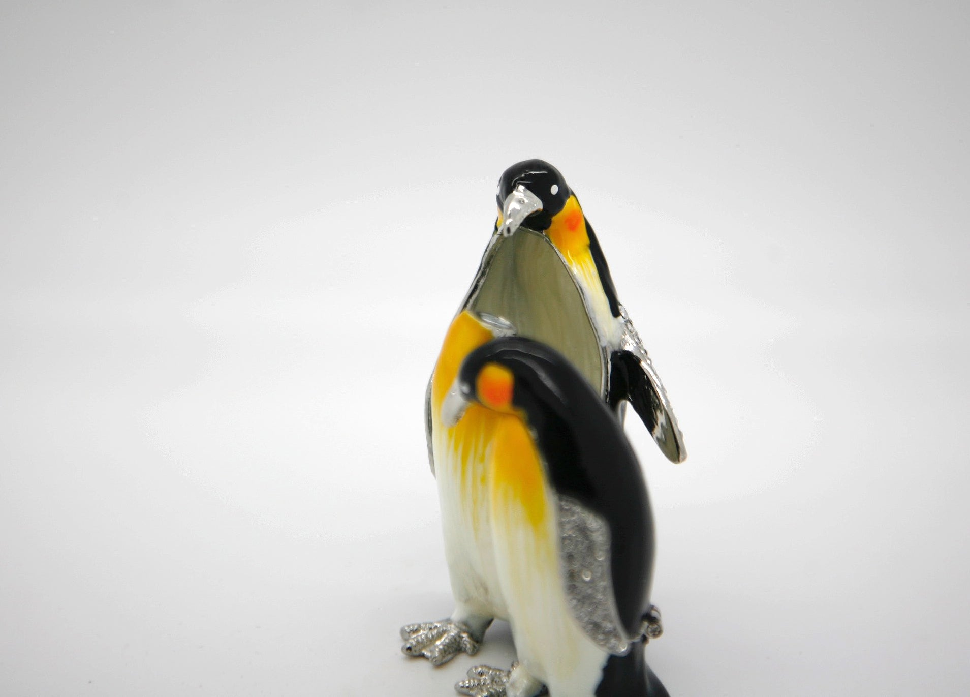 A Couple of Penguins Trinket Box