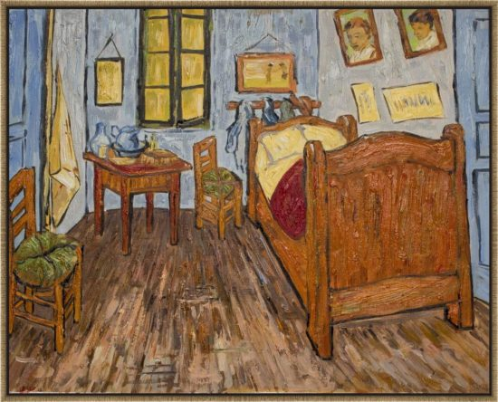 Vincent's Bedroom in Arles - Small Size