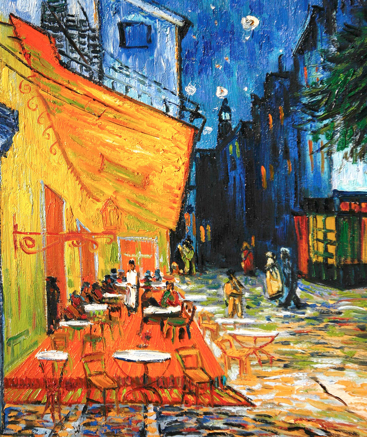 Cafe Terrace, Place Du Forum, Arles