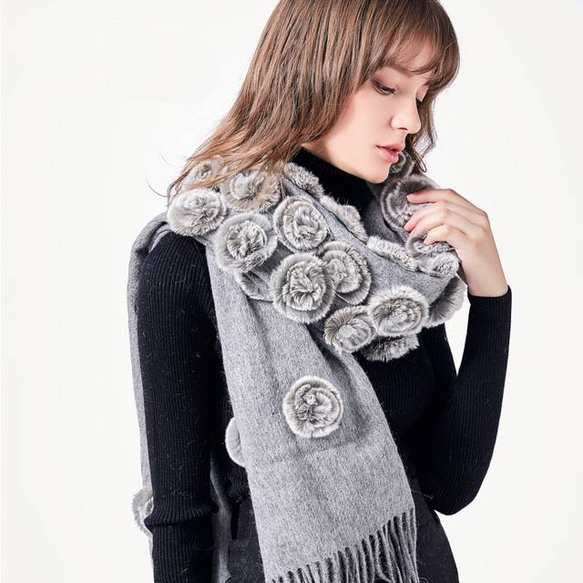 Winter fur  Scarf