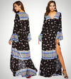 LOOSE LONG BOHEMIAN DRESS