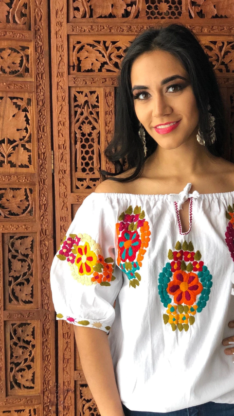 HAND EMBROIDERED TRADITIONAL TOP