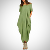 Plus Size Casual Loose Summer Maxi Dress
