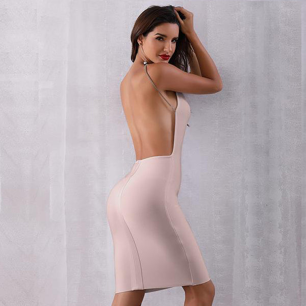 Summer Bodycon Bandage Dress