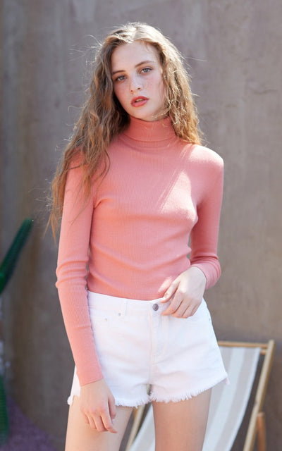 Casual Slim Fit Turtleneck Pullover sweater