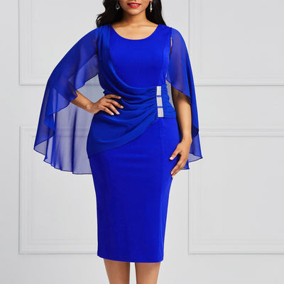 Plus Size Batwing Dress
