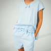 Linen Shirt and short set