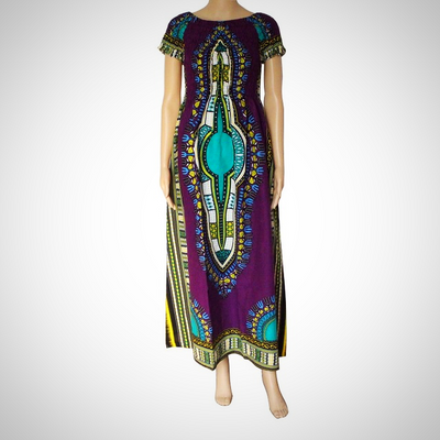 Casual Vintage Ethnic Cotton Dress
