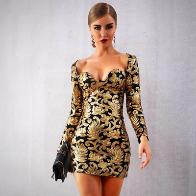 CELEBRITY EVENING PARTY DRESS