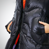DUCK DOWN PADDED LONG JACKET