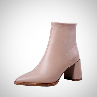SHEEPSKIN ANKLE BOOTS