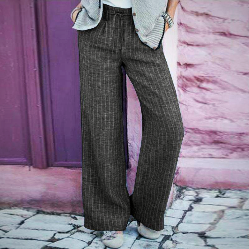 ELEGANT HIGH WAIST LONG TROUSER