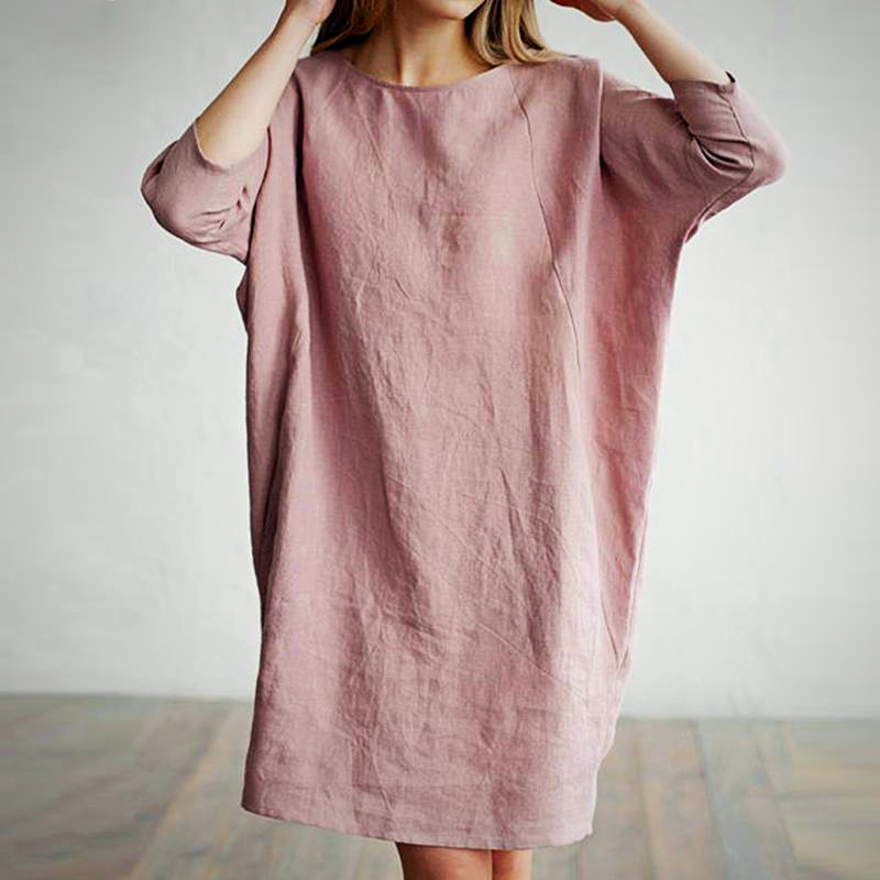 SLEEVE POCKETS VINTAGE DRESS