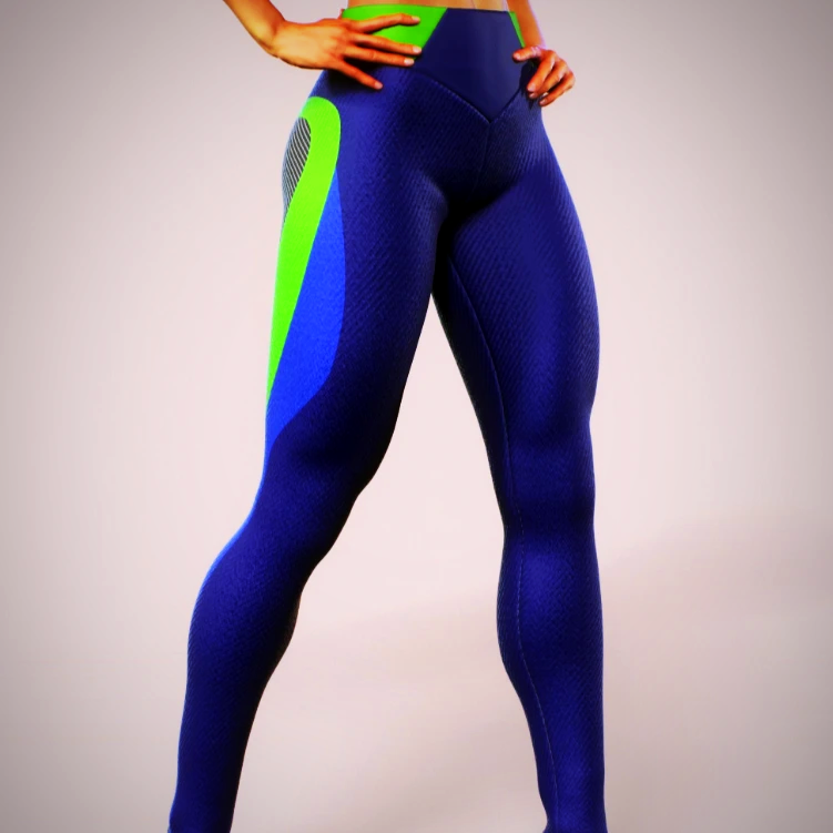 APPAREL PRINTED LYCRA GYM LEGGING