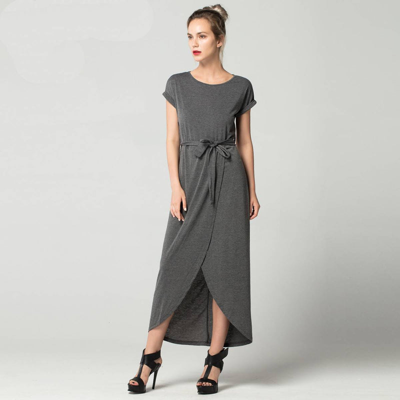O neck Short Sleeve Dress