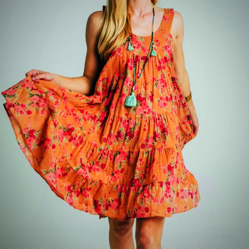 Stylish Floral Summer Dress