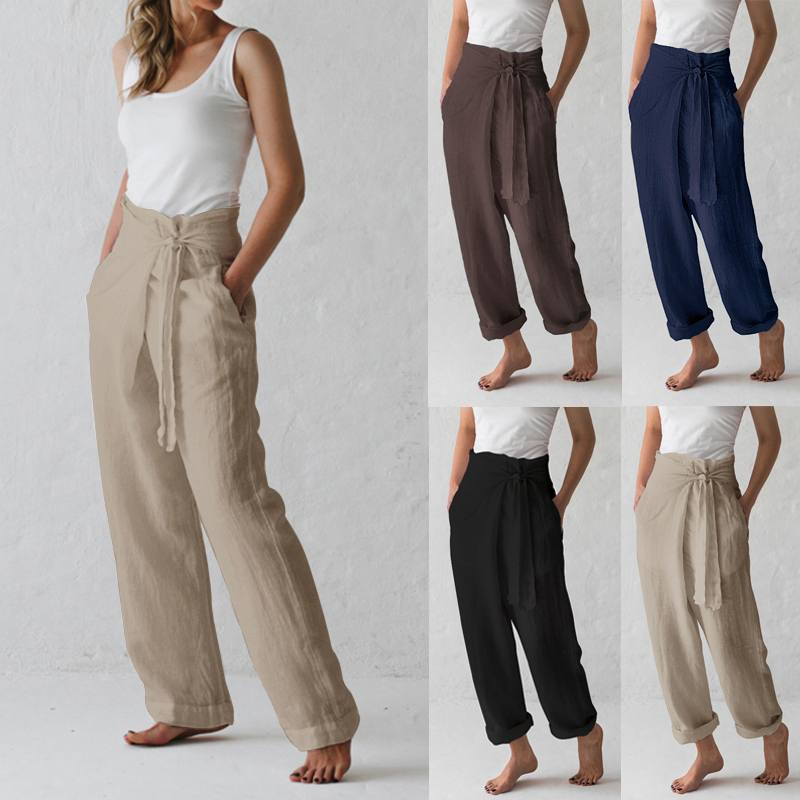Wide Leg Pants  Vintage Long Trousers