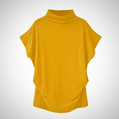 Turtleneck Short Sleeve  Shirt
