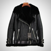 PARKA GENUINE LEATHER DOUBLE FACED FUR COAT