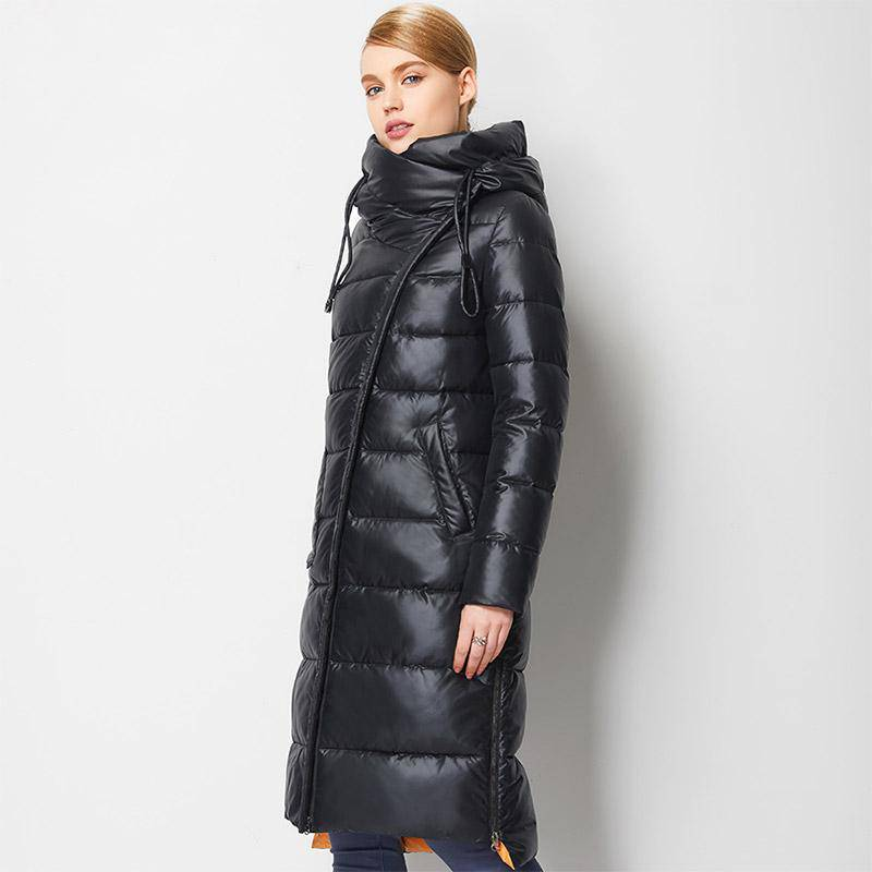 WARM HOODED BIO FLUFF PARKA COAT
