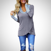 O Neck  Long Sleeve T shirt