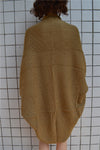 knitted clothes khaki jackets