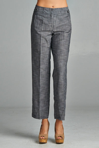 Summer Formal Larry Levine Cotton Pant