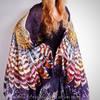 Boho Feather Wing  Silk Scarf