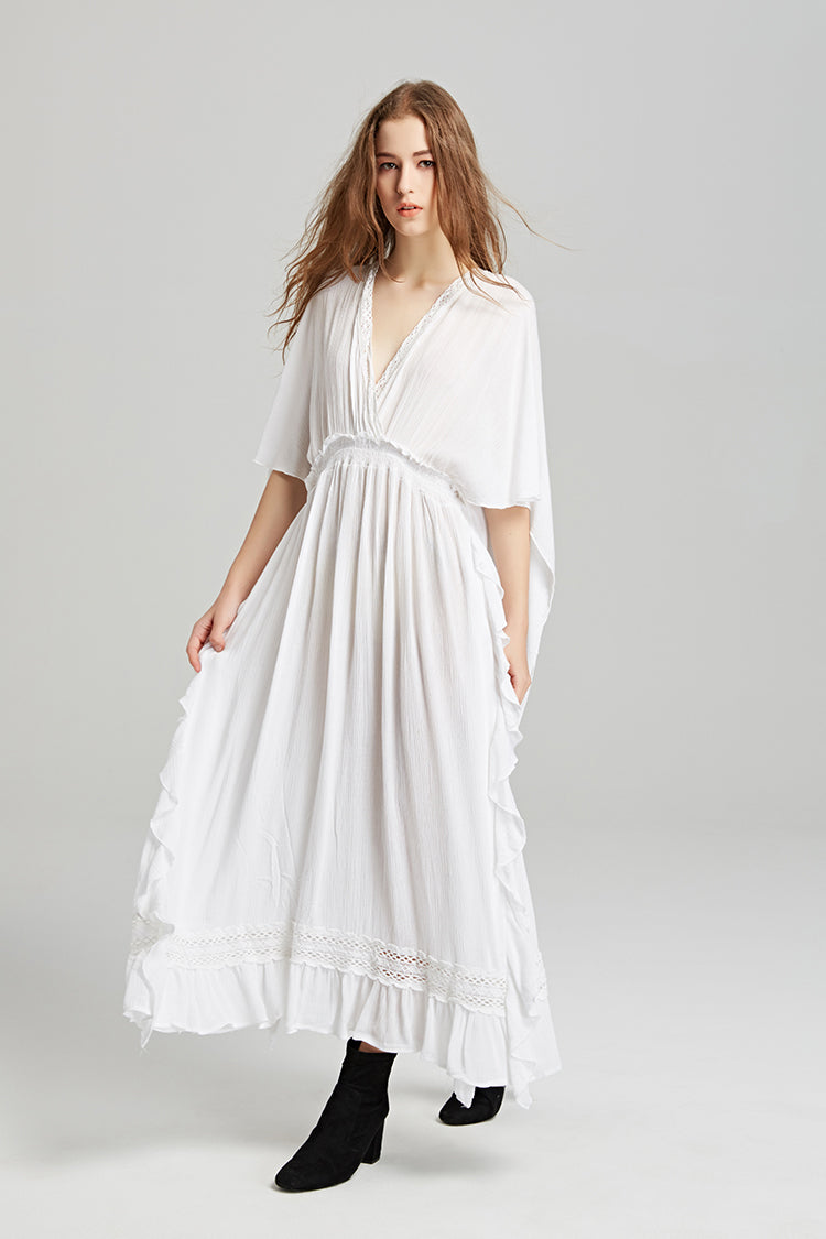 Casual Bohemian Summer Maxi Dress