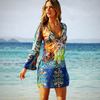 CHIFFON BIKINI COVER UP DRESS