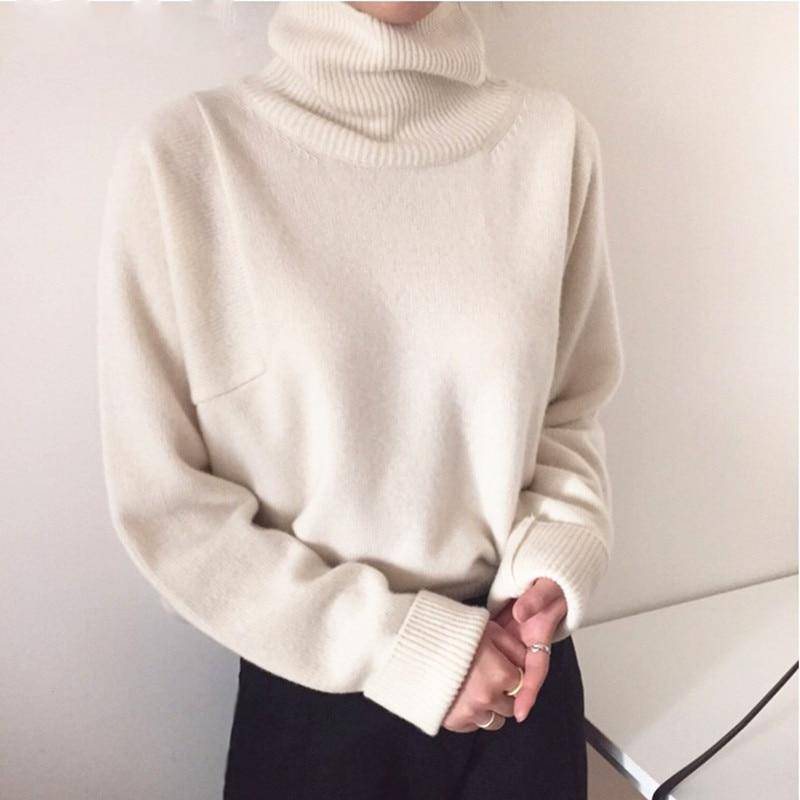 Pullover Turtleneck Sweaters