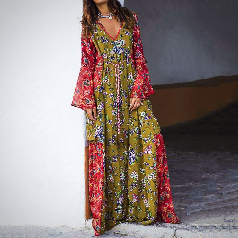 PLUS SIZE BOHEMIAN SUNDRESS